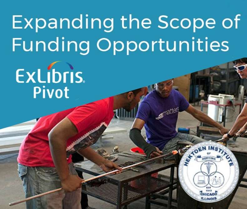 Pivot at Hektoen Institute - Expanding the Scope of Funding Opportunities
