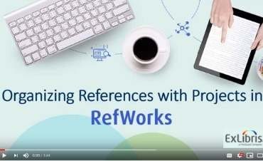 RefWorks Projects video