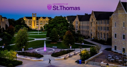 University of St. Thomas A Win in Course Material Affordability