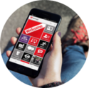 Middlesex university mobile app beiing used by student